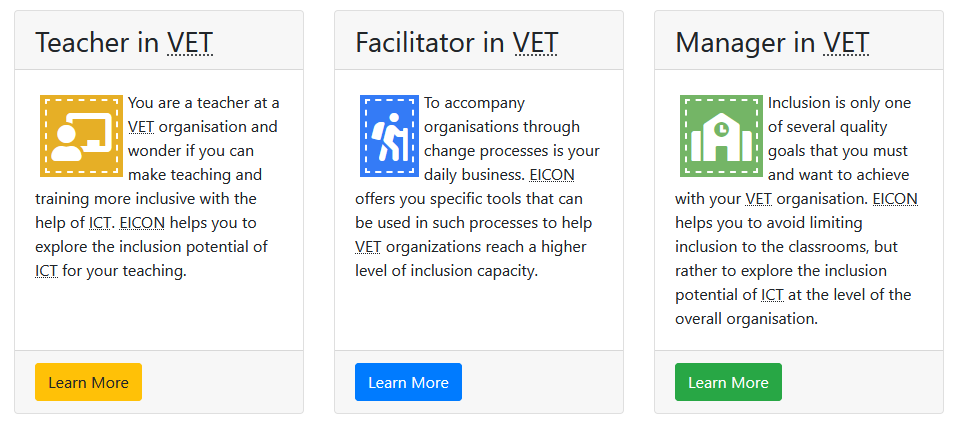 Zielgruppen Lehrkräfte, Organisationsentwicklung und Management